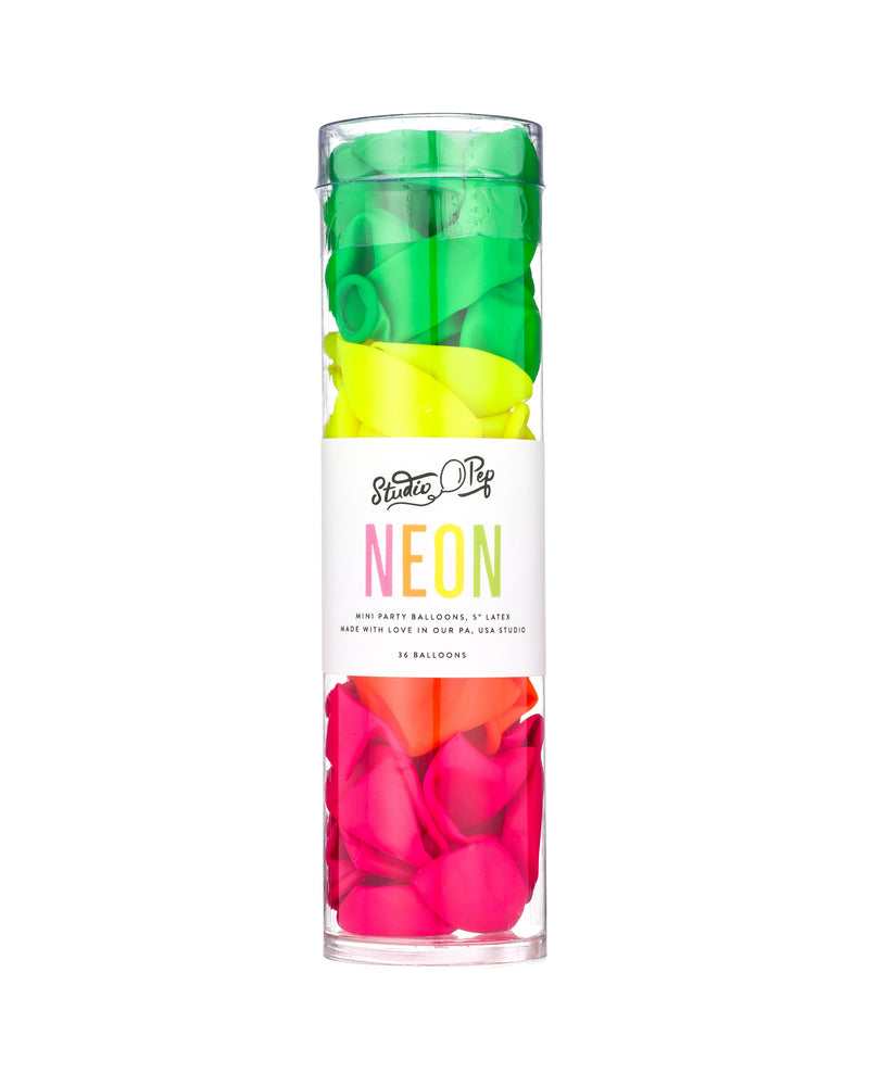 Load image into Gallery viewer, Neon Mini Balloons - Revelry Goods