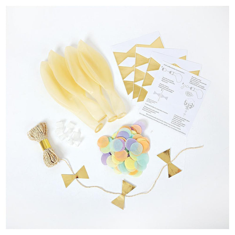 Pastel Confetti Balloon Kit - Revelry Goods