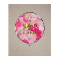 Pink Giant Confetti Balloon Kit - Revelry Goods