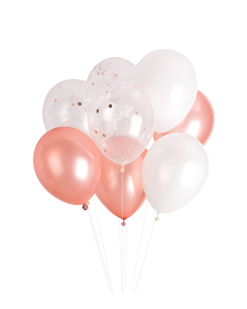 Rose Gold Classic Balloon Bundle - Revelry Goods