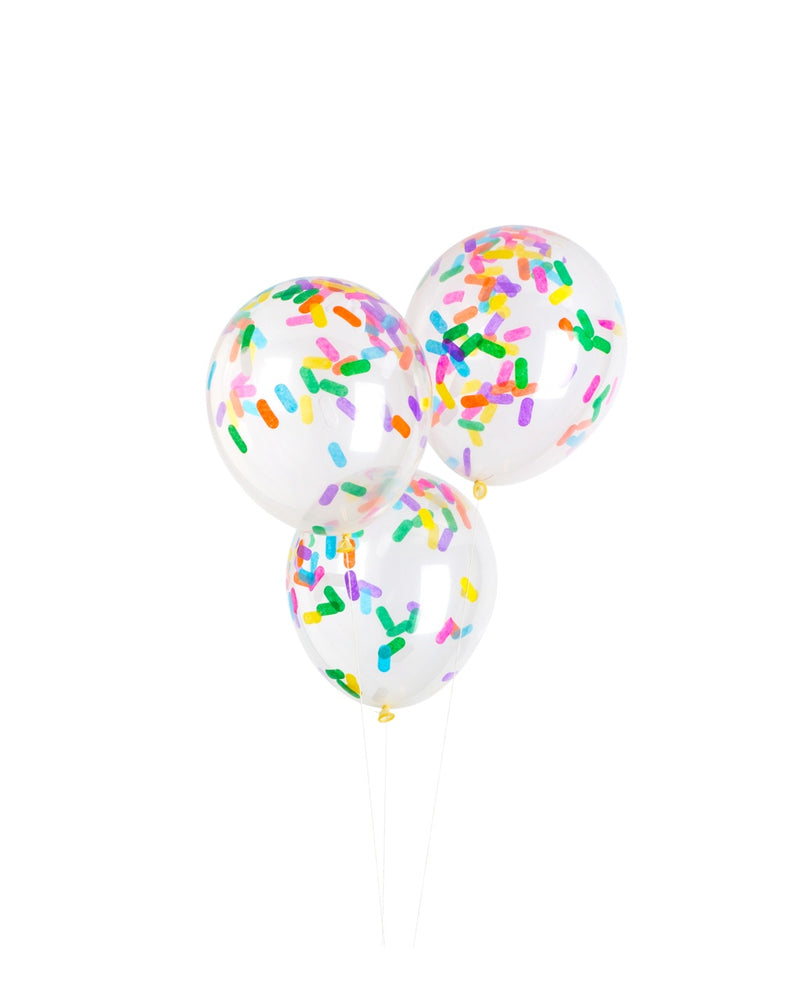 Sprinkles Confetti Balloon Bundle - Revelry Goods