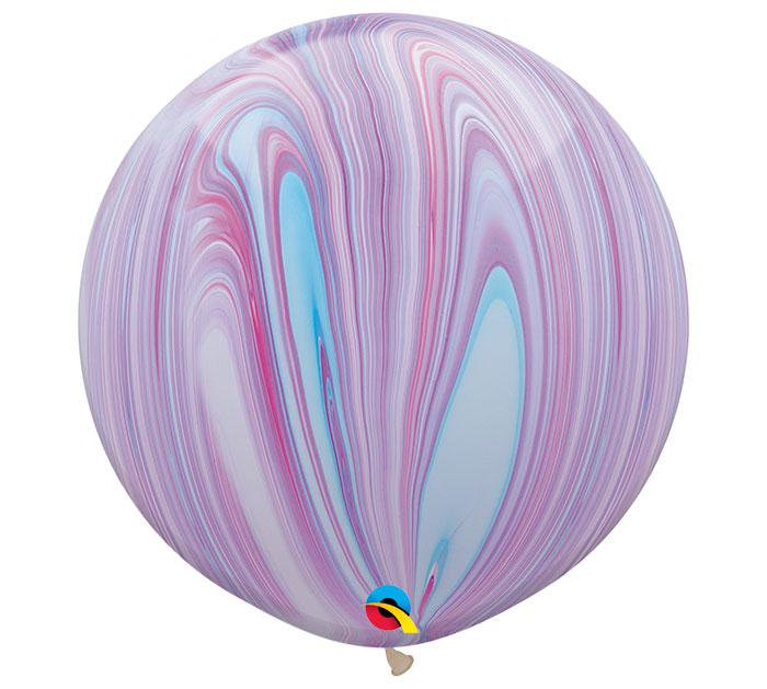 Superagate Lavender Jumbo Round Latex Balloons- Set of 2 - Revelry Goods