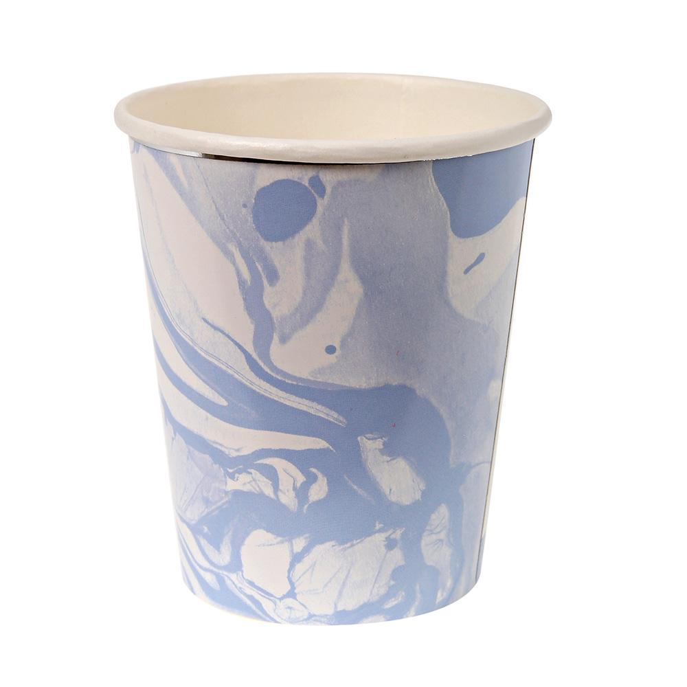 Blue Marble Cups - Revelry Goods