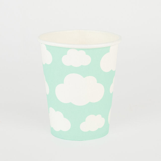 Load image into Gallery viewer, Cloud Paper Cups - Revelry Goods