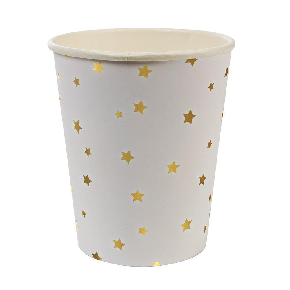 Gold Stars Party Cups - Revelry Goods