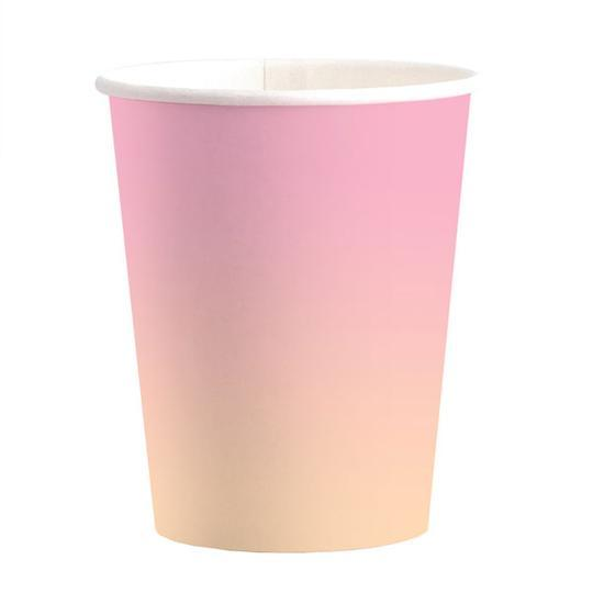 Sunset Ombre Classic Cups