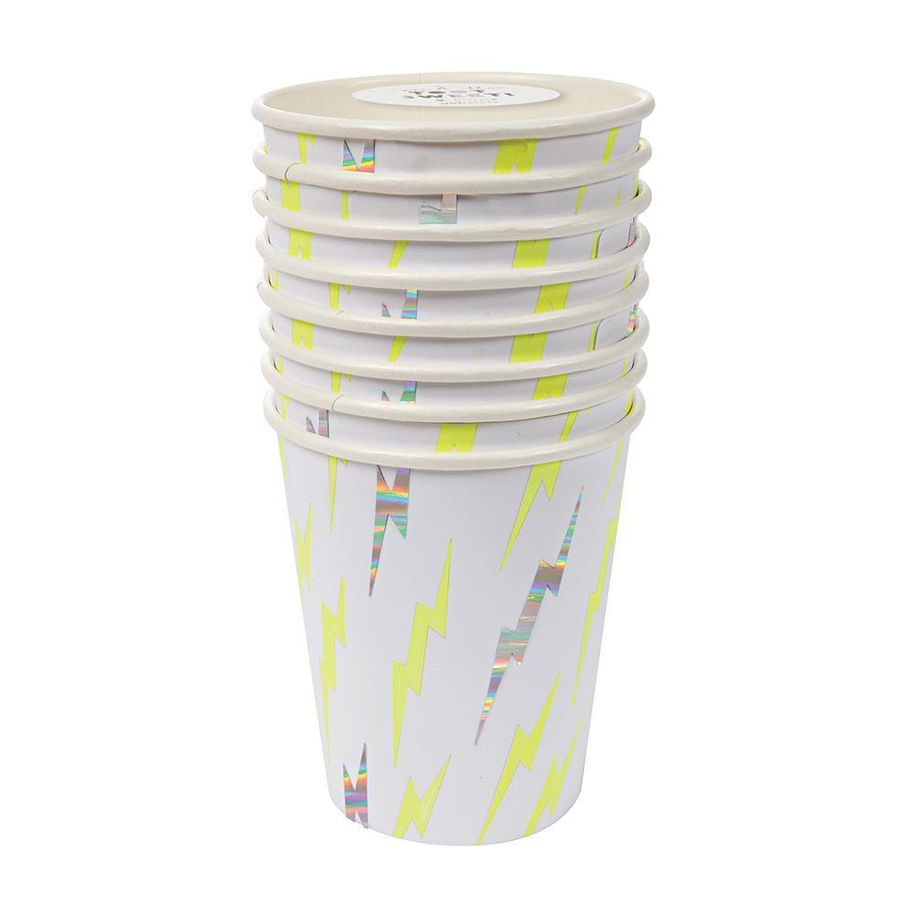 Meri Meri Zap! Party cups from Revelry Goods modern party shop