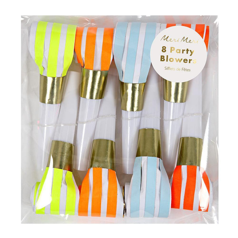 Neon Party Blowers - Revelry Goods