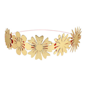 Gold Flower Crowns - Revelry Goods