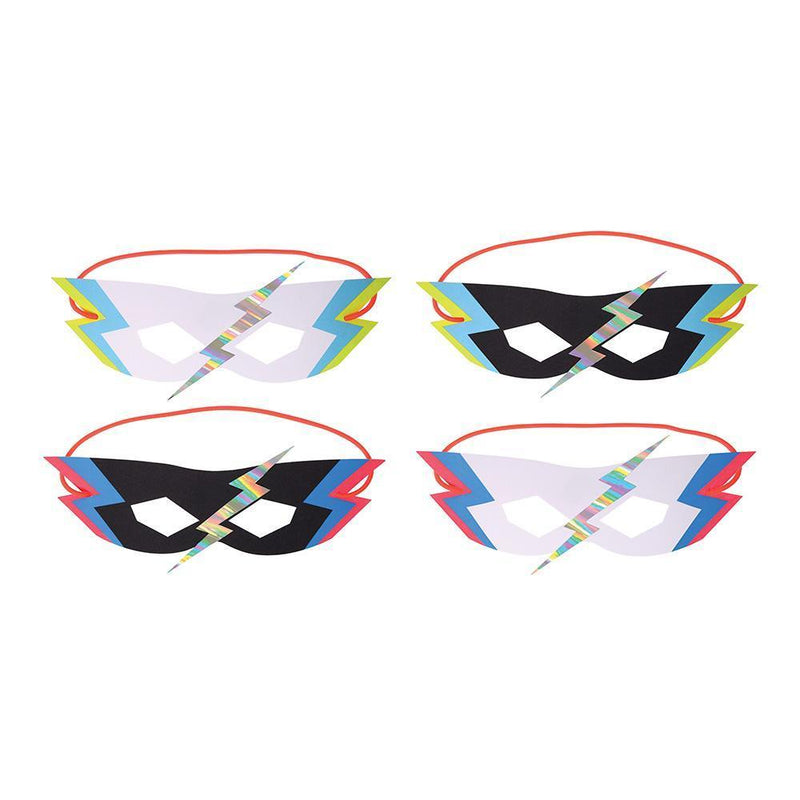 Meri Meri Zap! Party Masks from Revelry Goods modern party supplies