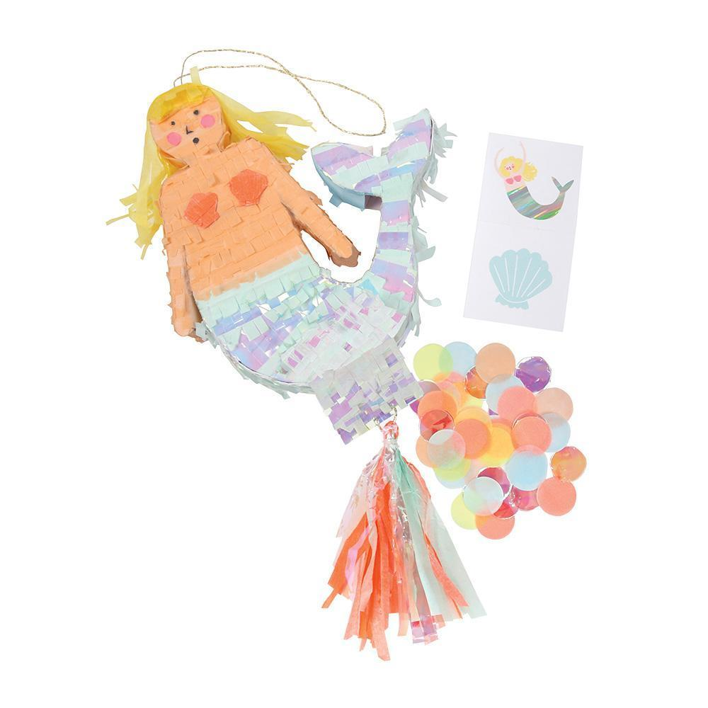 Load image into Gallery viewer, Mermaid Pinata Favor - Revelry Goods