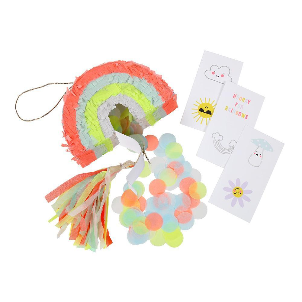 Load image into Gallery viewer, Rainbow Mini Pinata Favors - Revelry Goods