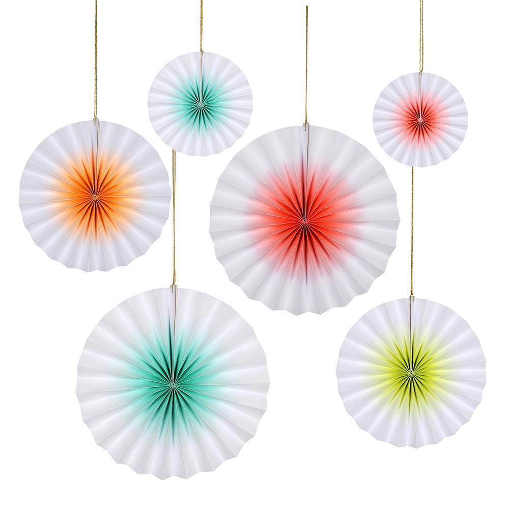 Load image into Gallery viewer, Neon Ombre Pinwheel Set - Revelry Goods