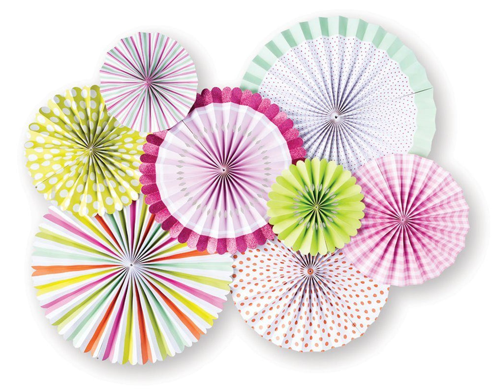 Pastel Party Fans - Revelry Goods