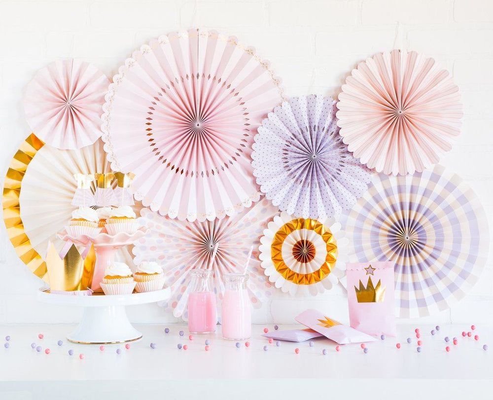 Princess Party Fans - Revelry Goods