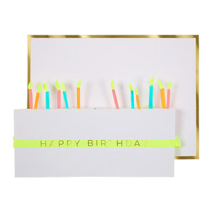 Birthday Cake Honeycomb Card - Revelry Goods