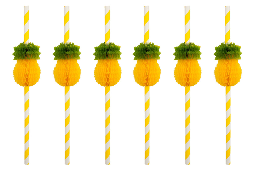 Pineapple Straws - Revelry Goods