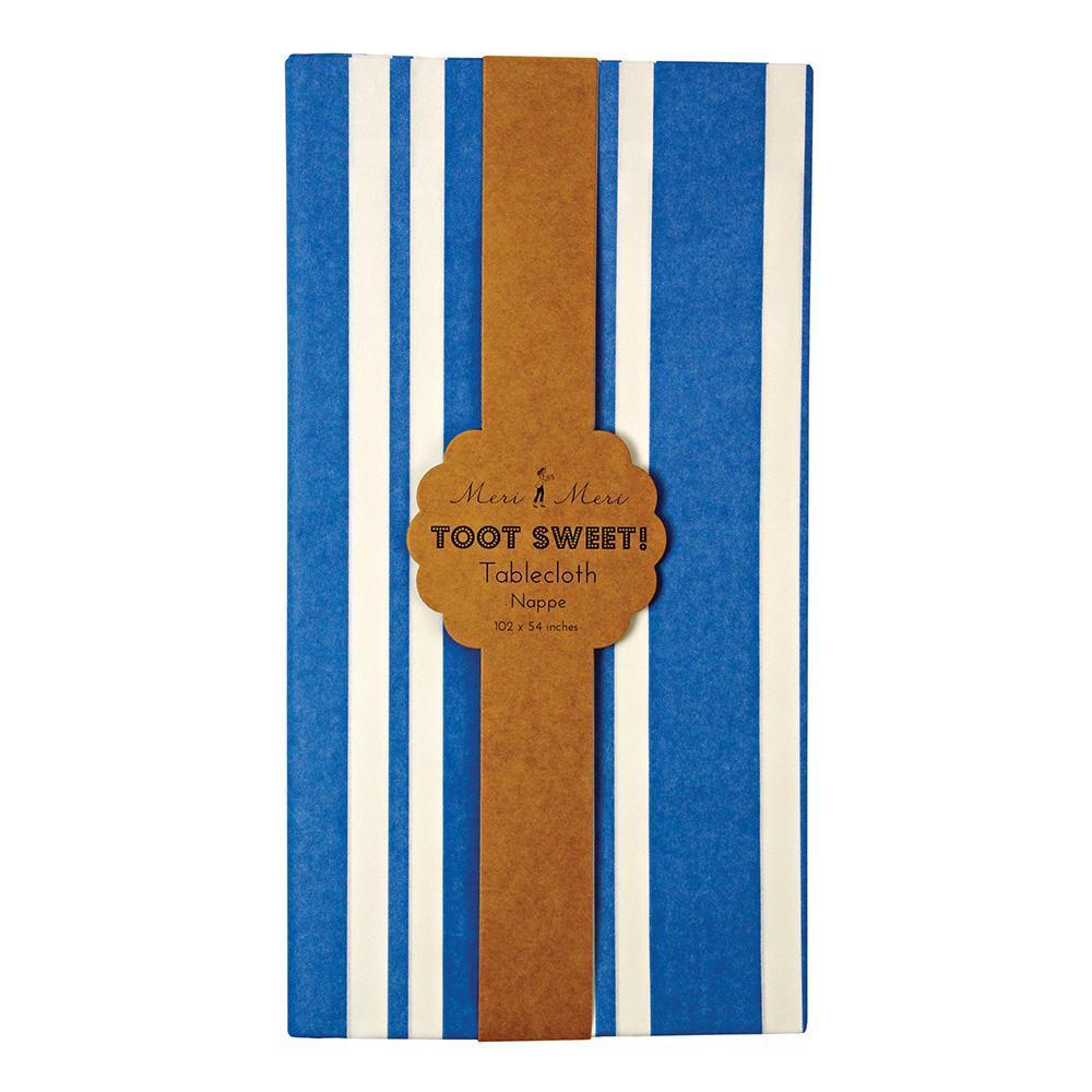 Bright Blue Tablecloth - Revelry Goods