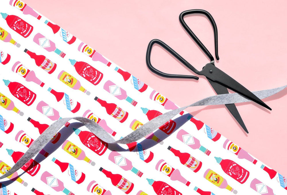 Hot Sauces Wrapping Paper Sheet
