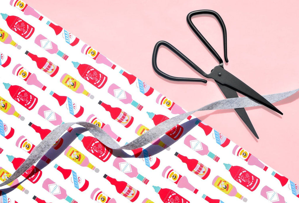 Hot Sauces Wrapping Paper Sheet - Revelry Goods
