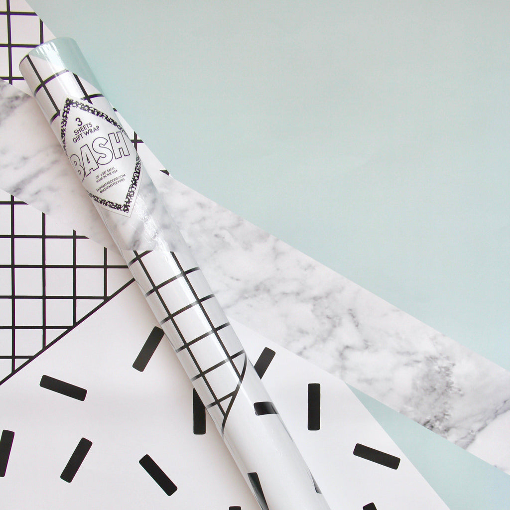 Mint Sprinkles Gift Wrap - Revelry Goods