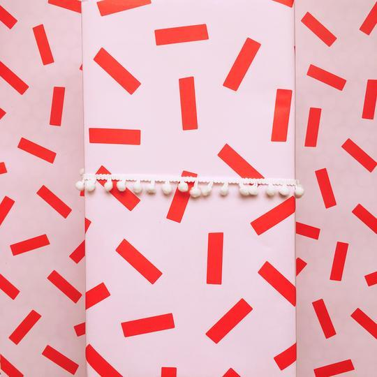 Peppermint Sprinkles Gift Wrap Roll - Revelry Goods