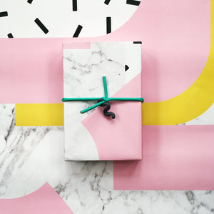 Load image into Gallery viewer, Pink Sprinkles Gift Wrap Roll - Revelry Goods