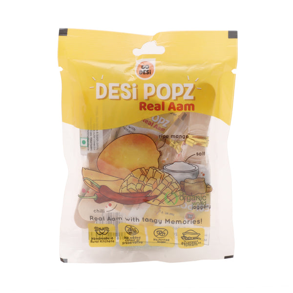 GO DESI - REAL AAM POUCH, 36 GM