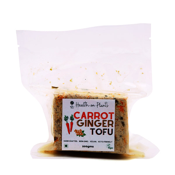 HEALTH ON PLANTS - CARROT GINGER TOFU 150GM