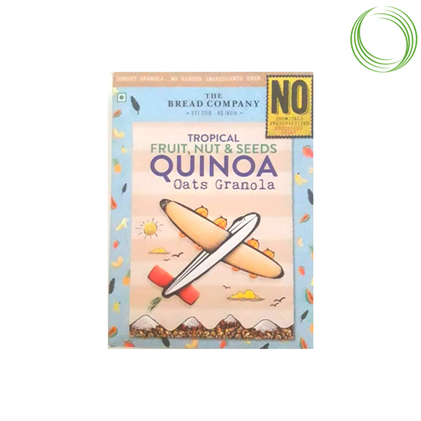 QUINOA AND NUTS GRANOLA