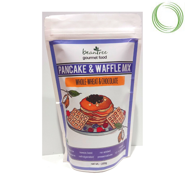 WHOLEWHEAT & CHOCOLATE PANCAKE & WAFFLE MIX