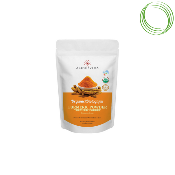 AARSHAVEDA - TURMERIC POWDER, 200 GM