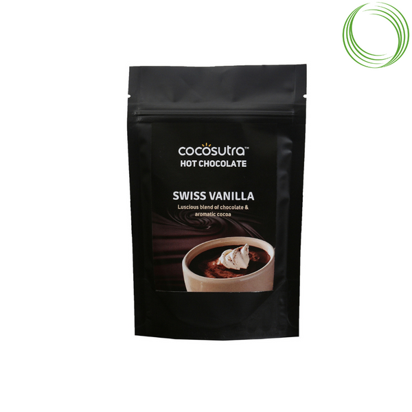 COCOSUTRA HOT CHOCOLATE BLEND SWISS VANILLA 100GM