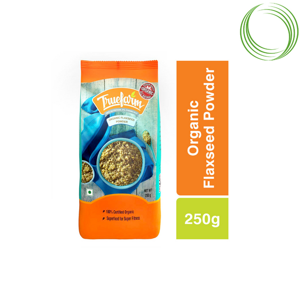 TRUEFARM ORGANIC FLAXSEED POWDER