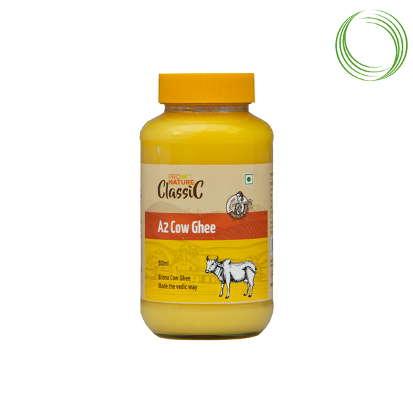 PN COW GHEE  (A-Z) GLASS BOTTLE 500 ML