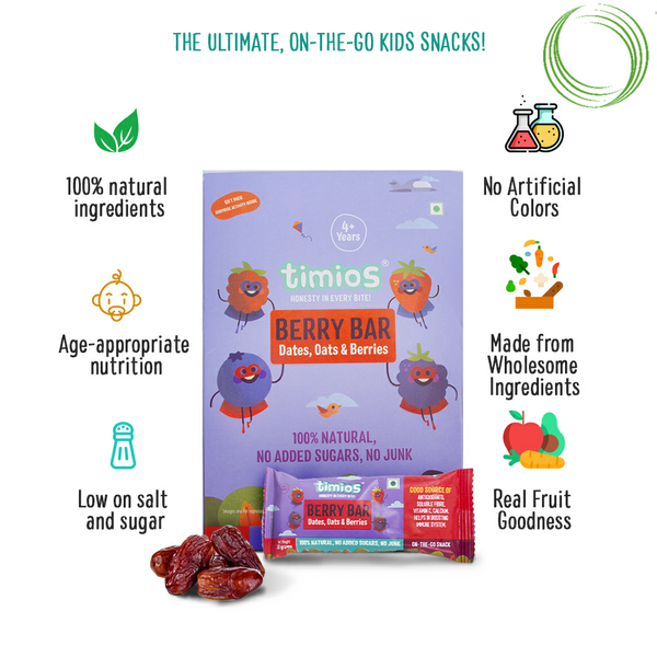 BERRY BAR PACK OF 4