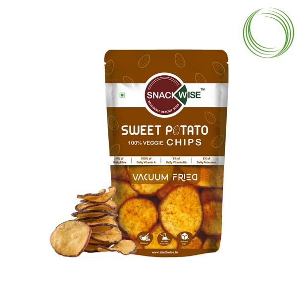 VACUUM FRIED SWEET POTATO CHIPS