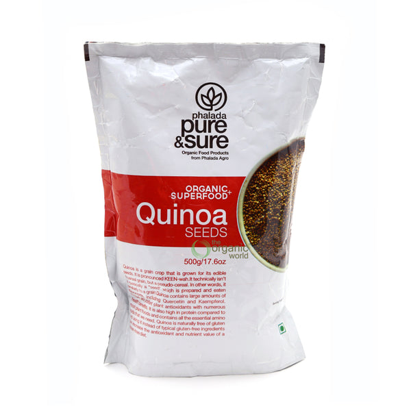 PHALADA PURE AND SURE - QUINOA, 500 GM