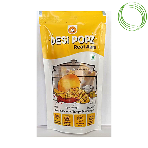 GO DESI - REAL AAM POUCH PACK, 10 UNITS