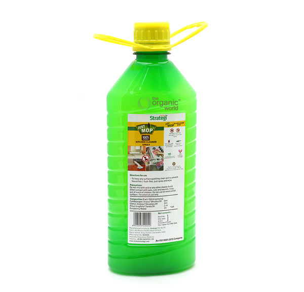 HERBAL STRATEGI - KITCHEN CLEANER DISINFECTANT & INSECT REPELLENT, 2 LTR