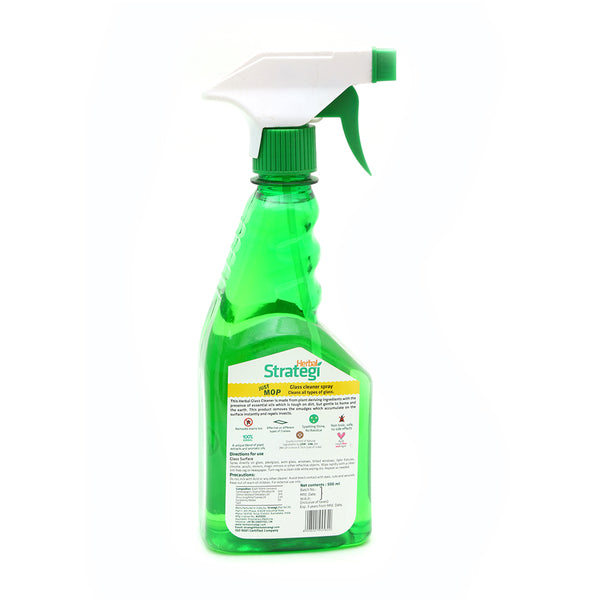 HERBAL STRATEGI - GLASS CLEANER DISINFECTANT & INSECT REPELLENT, 500 ML
