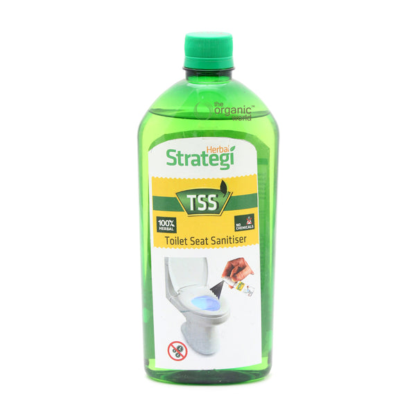 HERBAL STRATEGI - TOILET SEAT SANITISER, 500 ML