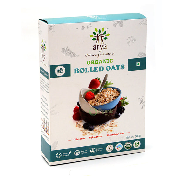 ARYA - ROLLED OATS, 500 GM