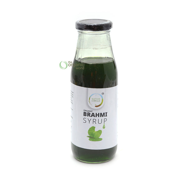 NATIVE CIRCLE - BRAHMI SYRUP, 300 ML
