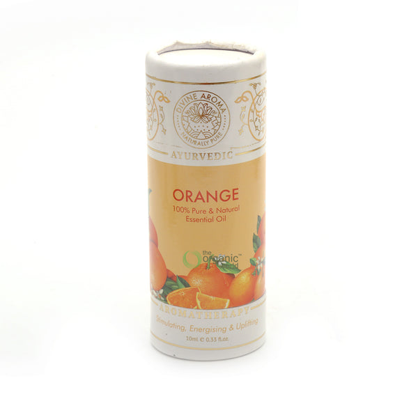 DIVINE AROMA - ORANGE (SWEET) ESSENTIAL OIL | 100% PURE & NATURAL, 10 ML