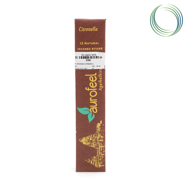 AF INCENSE CITRONELLA 12STICKS