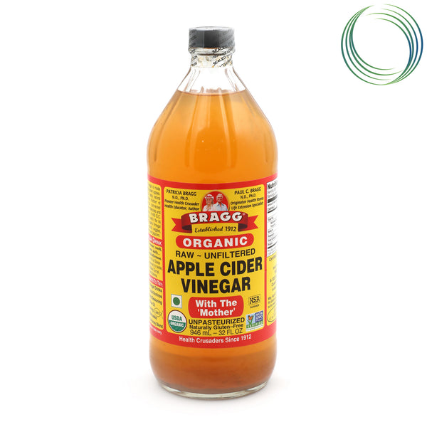 BRAGG APPLE CIDER VINEGAR 1LTR