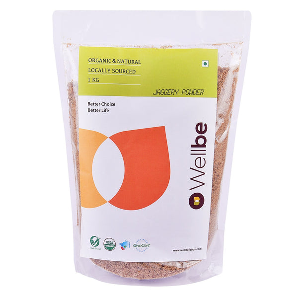 WELLBE JAGGERY POWDER 1KG