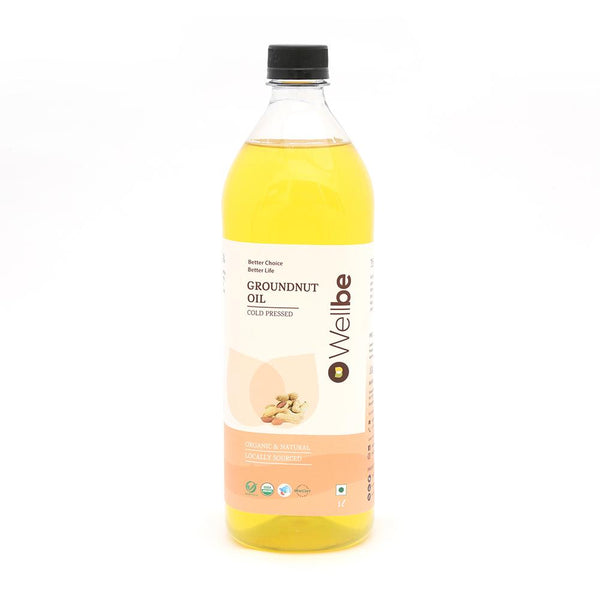 WELLBE GROUNDNUT OIL 1L