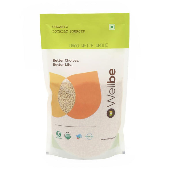 WELLBE URAD WHITE WHOLE 500G